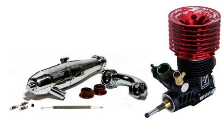 RC motor spalovací
